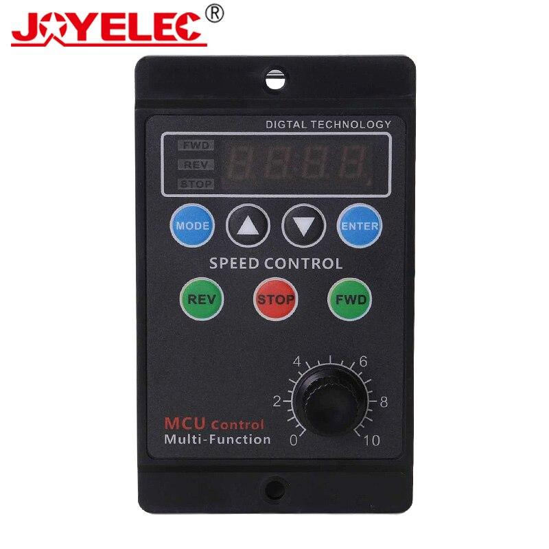 UX-52 Digital Display Motor Speed Controller Motor Governor Soft Start Tools 220V Ac 6W-400W regulated forword backword control